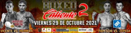 Pablo Vicente faces Javier Herrera in Panama City on October 29 | Boxen247.com (Kristian von Sponneck)
